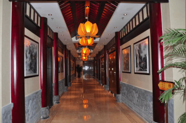 京城贷公司主走廊监控及无线覆盖
