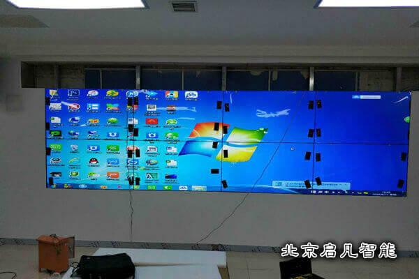公安大屏安装测试
