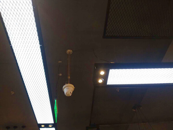 餐厅安装监控效果图