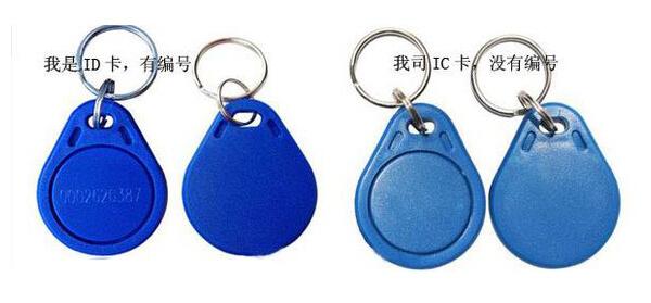门禁IC卡和ID卡编号识别